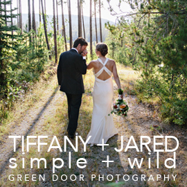 Montana Wedding by Green Door Photography