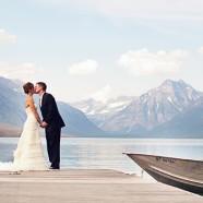 Glacier Park Wedding views | (c) Ike and Tash Photography