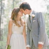 An outdoor Glacier Park wedding | (c) Cluney Photo