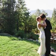 Ceremony meadow with Glacier Park views | (c) Green Door Photography