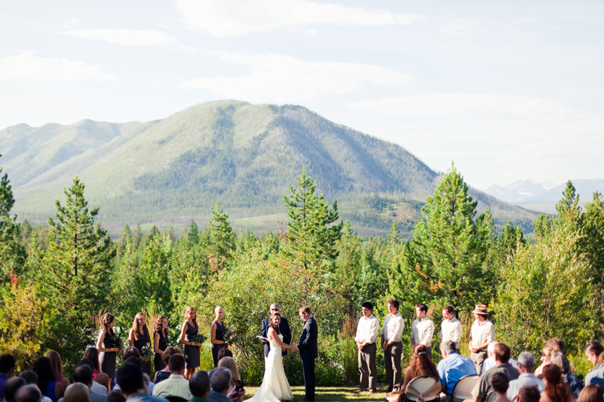 Mountain wedding venue