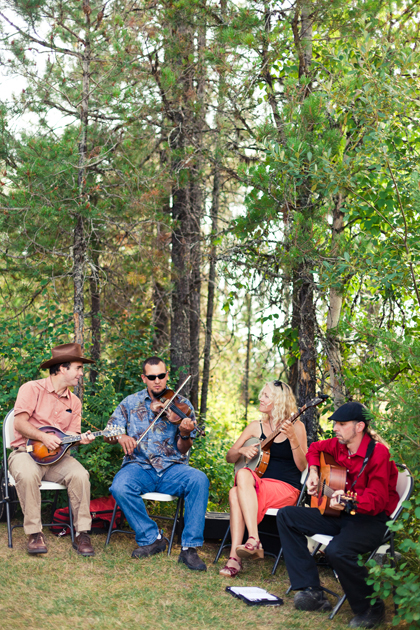 Bluegrass wedding band in Montana