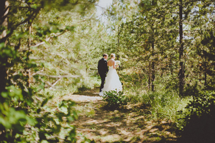 Outdoor Montana wedding venue