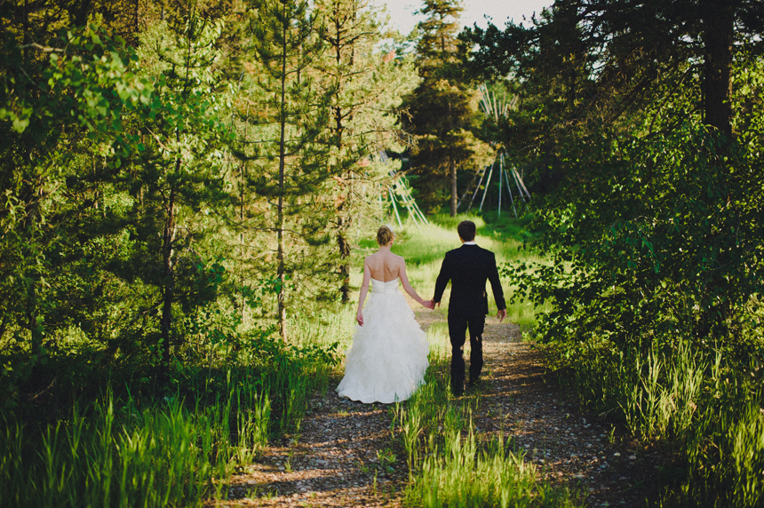 Montana destination wedding by Ryan Flynn Photography