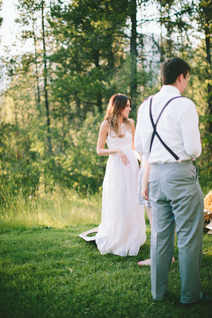 Outdoor Mountain Wedding - Glacier National Park