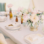 Montana Elopement Table Settings