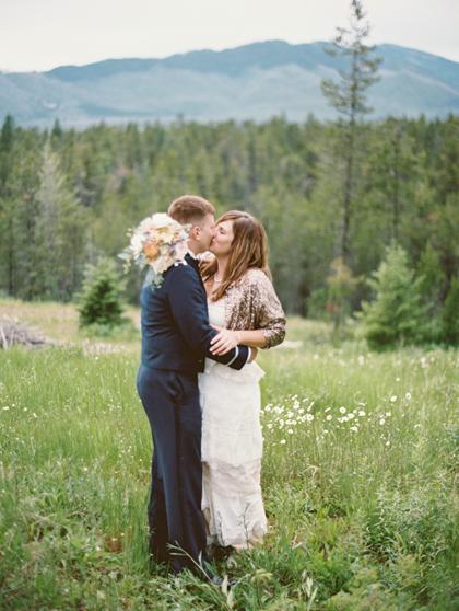 Mountain elopement destination