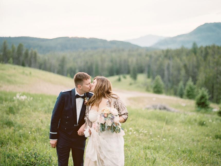 Mountain elopement destination - Glacier National Park, Montana