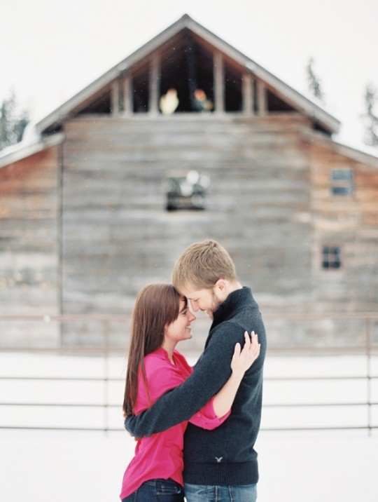Rustic Engagement Photos - Glacier Park Weddings, Montana