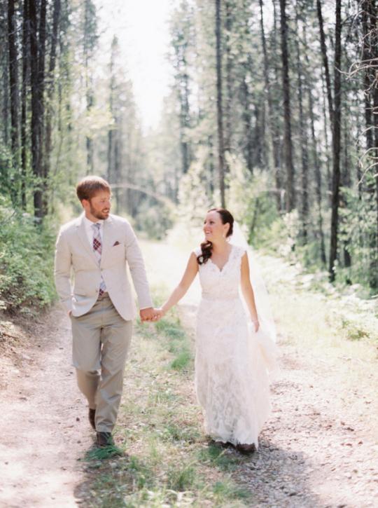 Montana mountain wedding venue at Glacier National Park