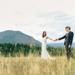 Anna and Andy Glacier Park Weddings