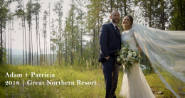 Adam and Patricia 2018 Glacier Park Weddings